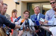 وزيرة دفاع ألمانيا تدعو لتمديد مشاركة قوات بلادها في مكافحة داعش