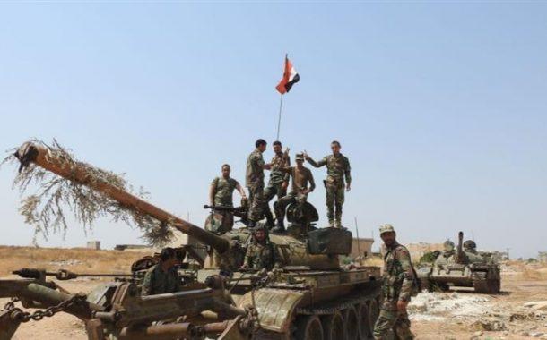الجيش السوري يسيطر على بلدات في حماة ويحاصر قوات تركية