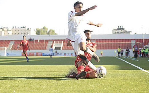 «أبيض الشباب» يرفع شعار الفوز الأول أمام العراق