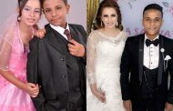 زواج أصغر عروسين في مصر