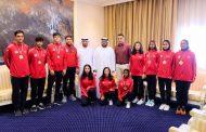 محمد الشرقي يستقبل لاعبي