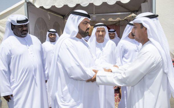 ولي عهد الفجيرة يعزي بوفاة والدة محمد سلطان هلال الكعبي
