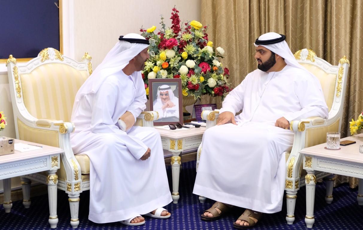 محمد بن حمد الشرقي يستقبل مجلس إدارة جمعية الفجيرة للصيادين