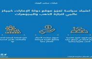 مجلس الوزراء يعتمد سياسة تعزيز تنافسية الدولة كمركز عالمي لتجارة الذهب والمجوهرات