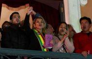 جانين آنيز تعلن نفسها رئيسة لبوليفيا