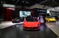 انطلاق الدورة الـ 15 من معرض دبي الدولي للسيارات بمركز دبي التجاري العالمي
