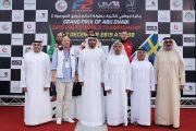 محمد بن سلطان يتوج القمزي بطلا للموسم وللجولة الختامية في مونديال زوارق الفورمولا 2