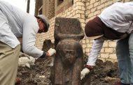 مصر تعلن اكتشاف تمثال نادر لرمسيس الثاني