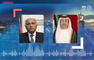 عبدالله بن زايد ووزير الخارجية المصري يبحثان هاتفيا الأوضاع الإقليمية