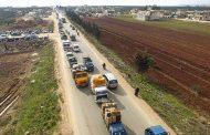 استمرار نزوح المدنيين جراء المعارك العنيفة في إدلب