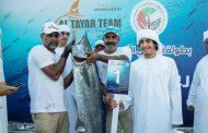 رقم قياسي جديد لأغلى سمكة في العالم بجولة أبوظبي الكبرى لصيد الكنعد والسكل