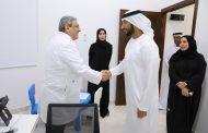 عبد الله الشرقي يفتتح مركز ألفا الطبي في الفجيرة