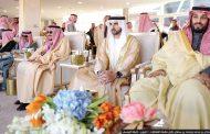 حمدان بن محمد يشهد مهرجان الملك عبدالعزيز للإبل