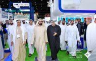 محمد بن راشد يزور معرض الصحة العربي