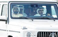 محمد بن راشد يشهد ختام مهرجان ولي عهد دبي للهجن
