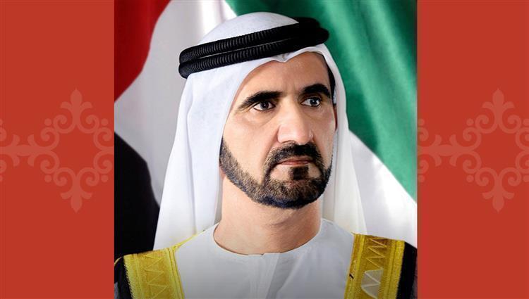 محمد بن راشد يهنئ محمد بن زايد بإصدار رخصة تشغيل أولى محطات
