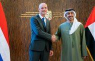 عبدالله بن زايد يبحث الوضع الإقليمي والدولي مع وزير خارجية هولندا