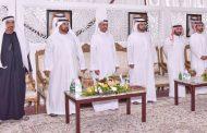 حاكم الفجيرة يحضر مأدبة محمد اليماحي في غوب