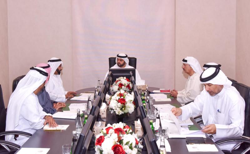 مناقشة خطة عمل «حمد بن محمد الشرقي للأعمال الإنسانية»