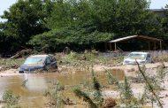 الفيضانات تطمس معالم جزيرة إيفيا اليونانية