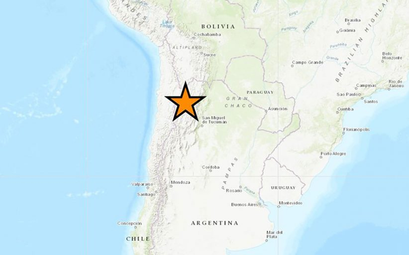 زلزال بقوة 6.3 درجة يضرب حدود التشيلي والأرجنتين