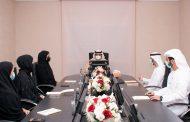 محمد الشرقي يستقبل أعضاء مجلس الفجيرة للشباب والقائمين على أرشيف الفجيرة للتصوير