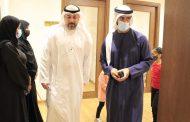 عبد الله الشرقي يزور أكاديمية الفجيرة للفنون الجميلة