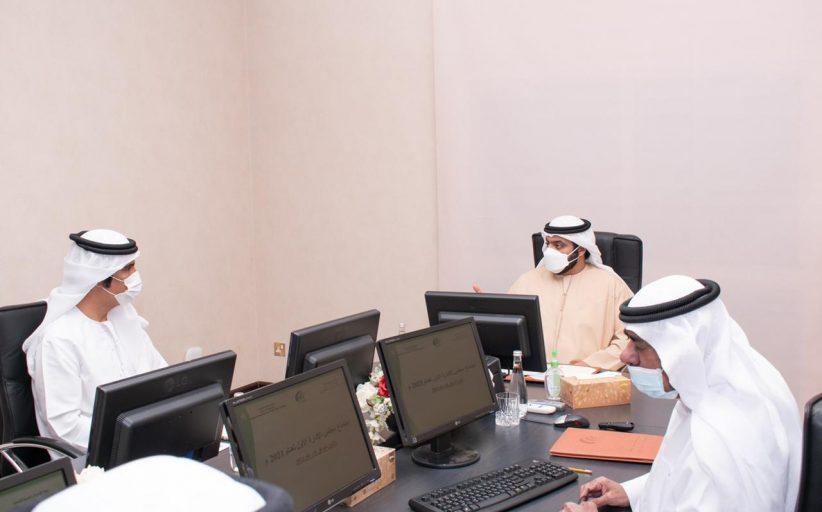محمد الشرقي يترأس اجتماع مؤسسة الفجيرة لتنمية المناطق لعام 2021