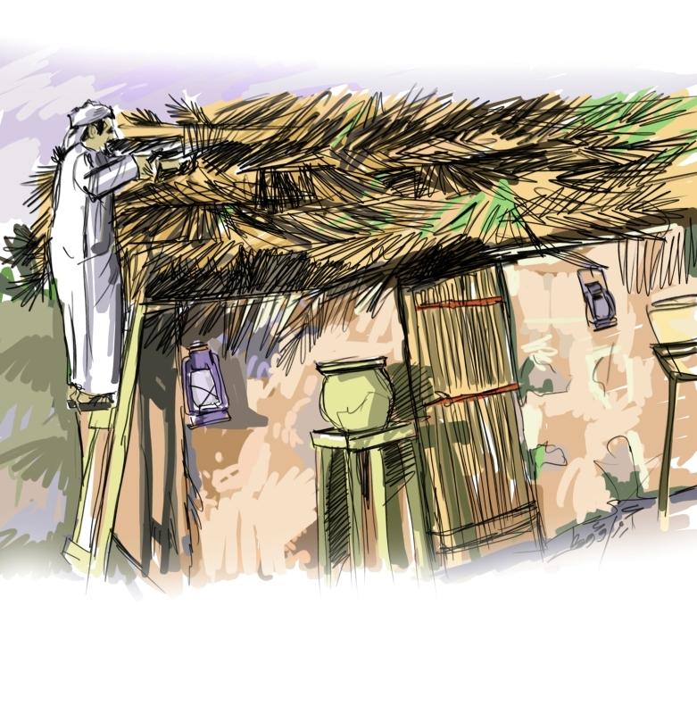 البيوت القديمة.. معمار ثري بالجماليات والدلائل