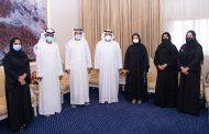 محمد بن حمد الشرقي يستقبل مجلس إدارة جمعية الفجيرة الثقافية