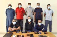 إدارة المنطقة الشرقية تُلقي القبض على متهمين بالاحتيال عن طريق الهاتف