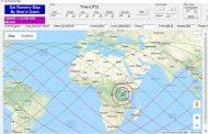 توقعات بسقوط الصاروخ الصيني التائه وسط أفريقيا 8 أو 9 مايو الجاري