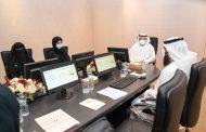 محمد بن حمد الشرقي يطلع على خطط ومشاريع مركز الفجيرة لنظم المعلومات الجغرافية