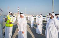 ولي عهد الفجيرة وحمدان بن زايد يطلعان على المشاريع التطويرية في ميناء الفجيرة
