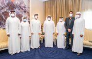 محمد بن حمد الشرقي يستقبل اللجنة المنظمة لبطولة الفجيرة الدولية لبناء الأجسام
