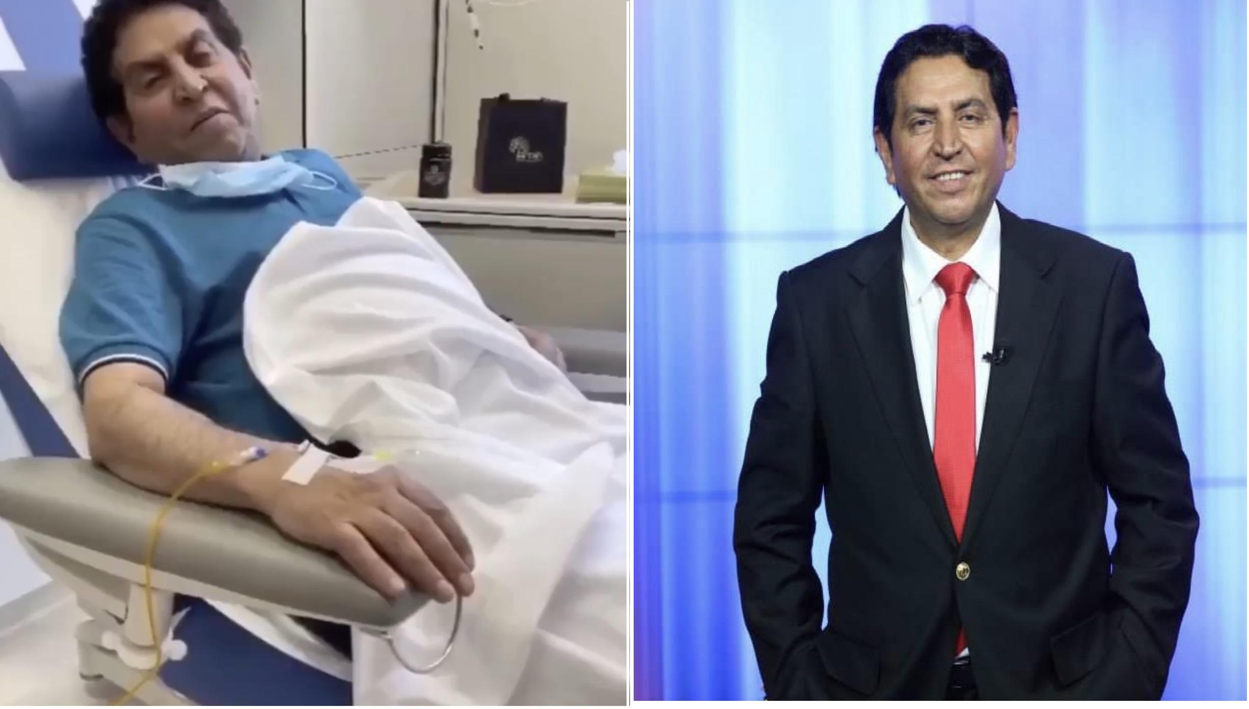 كريم العراقي يبدأ رحلة علاج السرطان