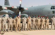 القوات الجوية والدفاع الجوي تشارك في مناورات التمرين الجوي المشترك والمختلط