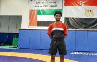 المسماري يمثل الإمارات في مونديال المصارعة