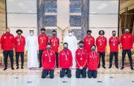 ولي عهد الفجيرة يستقبل الفائزين في بطولة الأندية العربيّة للمبارزة