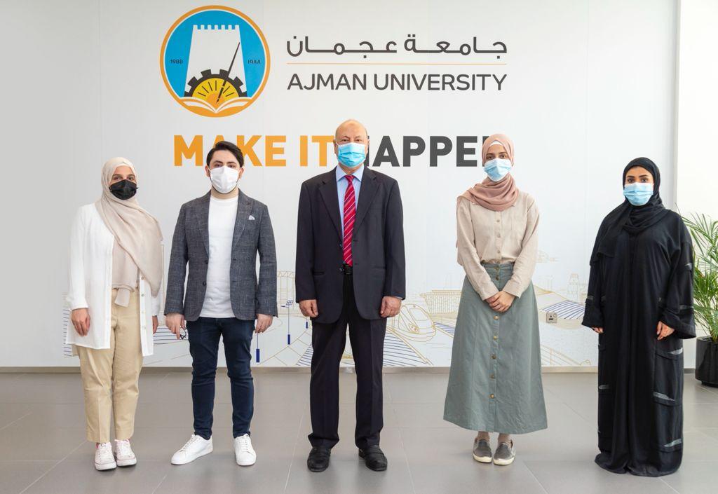طلبة جامعة عجمان يحصدون جائزة جيمس دايسون الدولية