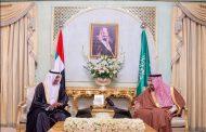 حاكم الفجيرة يهنئ خادم الحرمين الشريفين باليوم الوطني الـ91 للمملكة