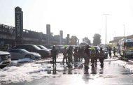 تضرر 55 سيارة.. دفاع مدني دبي يسيطر على حريق في معارض السيارات برأس الخور