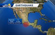 زلزال بقوة 7.4 درجة يهزّ جنوب غرب المكسيك