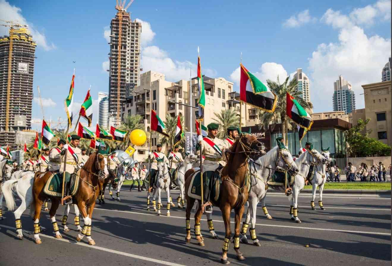 الإمارات تبدأ اليوم احتفالات استباقية بـ